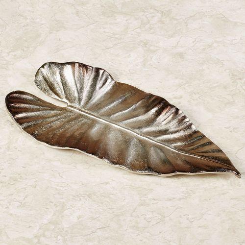 Lorcan Decorative Dish Platinum