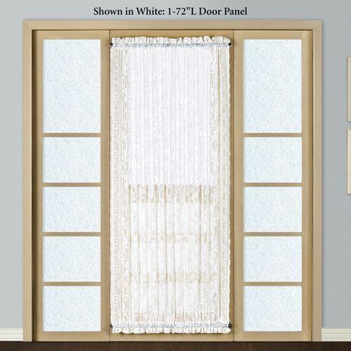 Windsor Lace Door Panel 56 x 72
