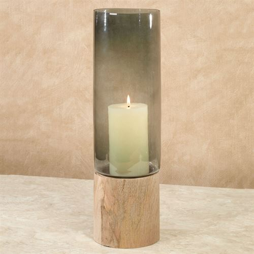 Elspeth Hurricane Candleholder Natural