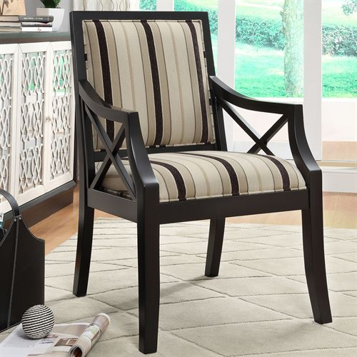 Berman Accent Chair Black