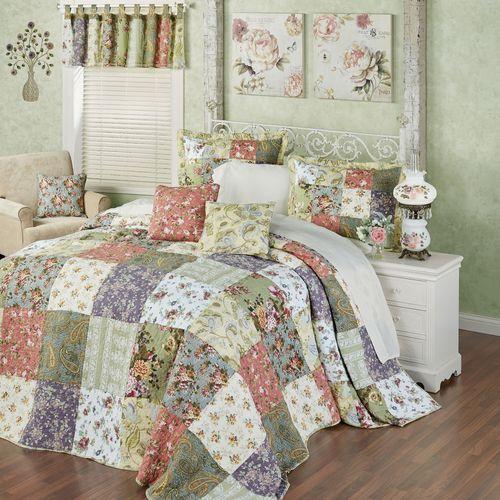 Blooming Prairie Bedspread Set Multi Cool
