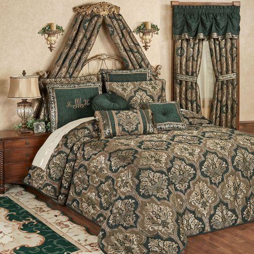 Marietta Grande Bedspread Green