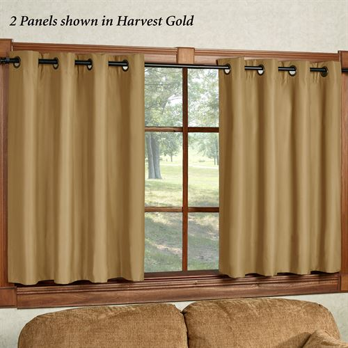 Paramount Short Grommet Curtain Panel 50 x 45