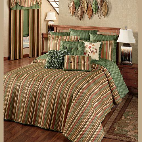 Riverpark Grande Bedspread Multi Warm