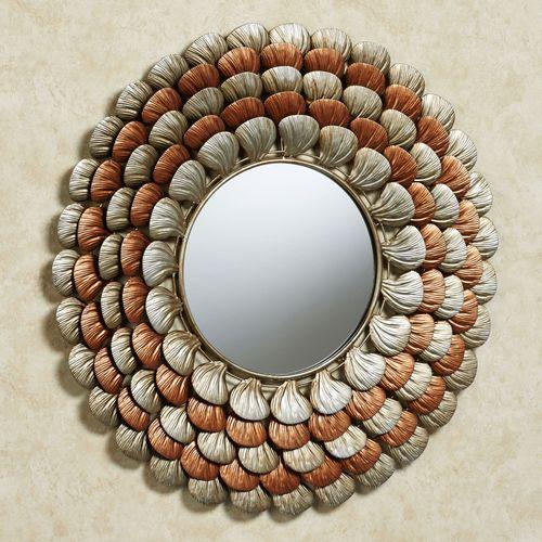 Adamaris Mirrored Wall Art Multi Metallic