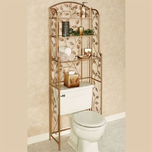 Eden Bathroom Space Saver Champagne Bronze