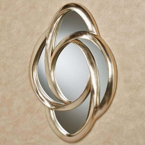 Endless Motion Wall Mirror Platinum