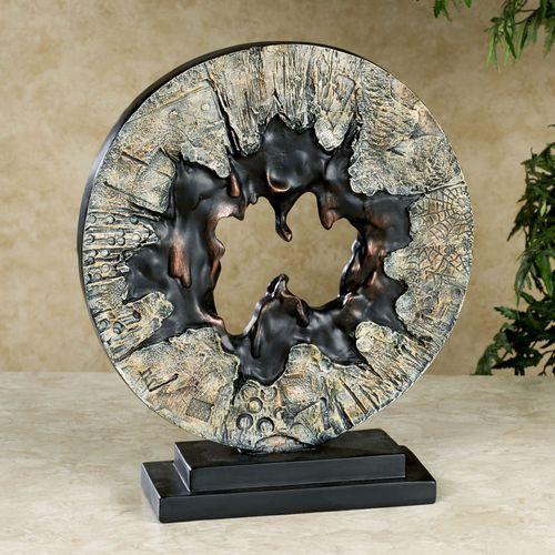 Amorphous Table Sculpture Multi Earth