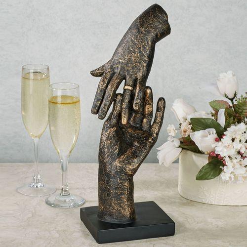 Proposal Table Sculpture Black/Gold