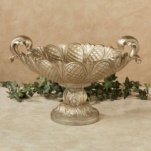 Calissa Decorative Centerpiece Bowl Satin Gold