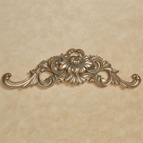 Calissa Decorative Wall Topper Satin Gold