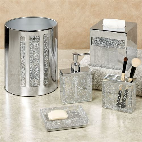 Enlighten Lotion Soap Dispenser Silver