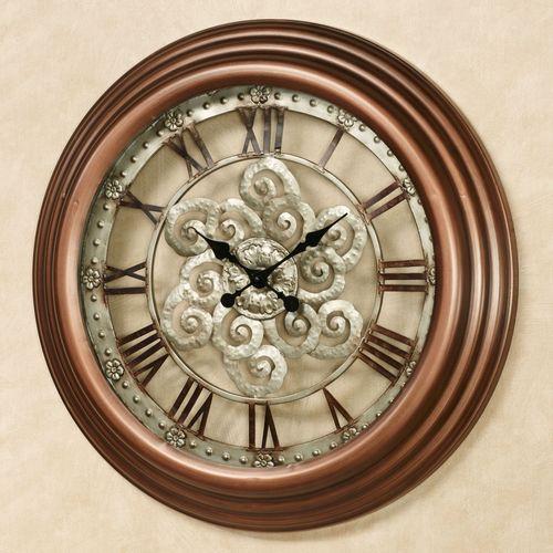 Coraline Wall Clock Bronze