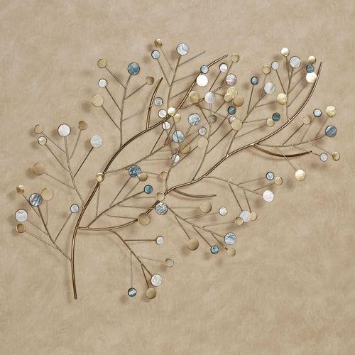 Aaralynne Branch Wall Art Gold