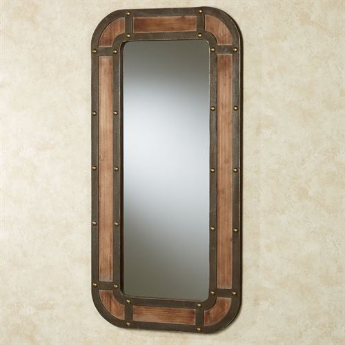 Pikeville Wall Mirror Brown