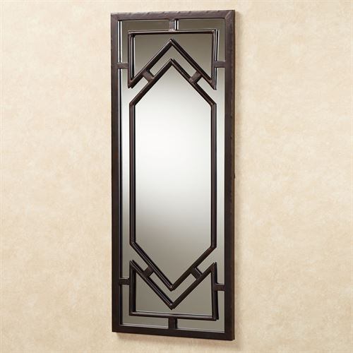 Bullock Wall Mirror Panel Dark Bronze