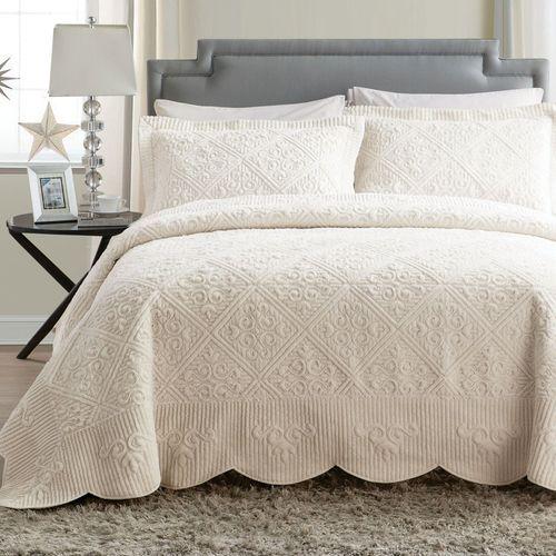 Westland Bedspread Set Light Cream