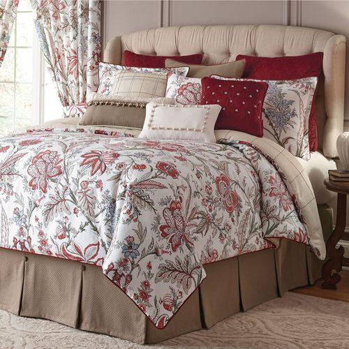 Izabelle Comforter Set Claret