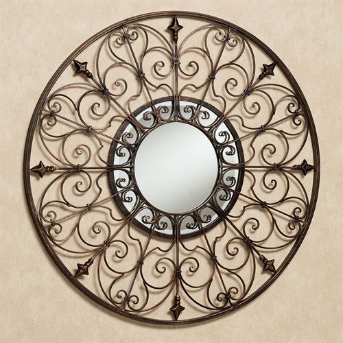 Palazzio Mirrored Wall Grille Antique Bronze
