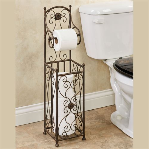 Kadalynn Toilet Paper Stand Antique Bronze