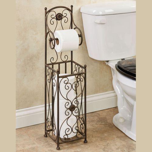 Kadalynn Toilet Paper Stand Antique Bronze