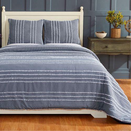 Winston Mini Comforter Set Indigo