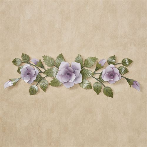 Rose Swag Wall Topper Lavender