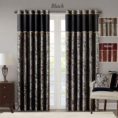Aubrey Wide Tailored Curtain Pair