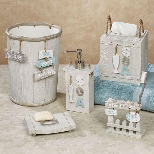 Driftwood Lotion Soap Dispenser Gray
