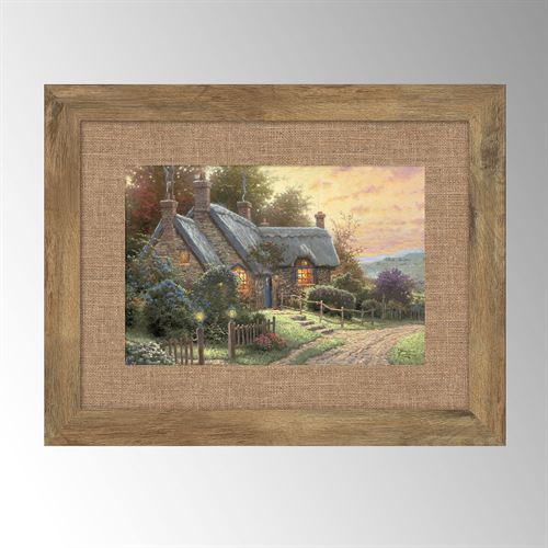 Thomas Kinkade A Peaceful Time Cottage Framed Wall Art