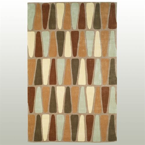 Triangles Rectangle Rug