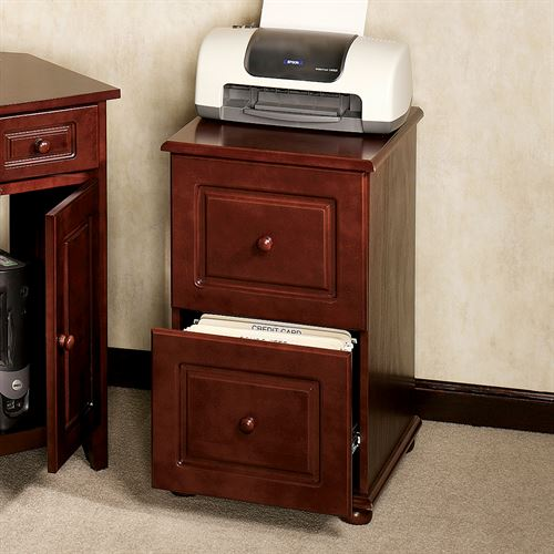 Aubrie Classic Cherry Filing Cabinet