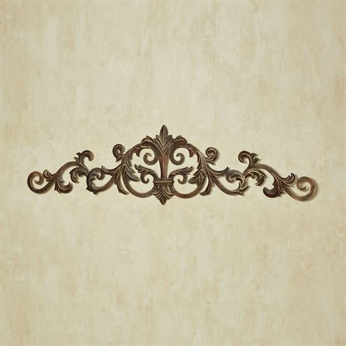 Asher Wall Topper Antique Gold