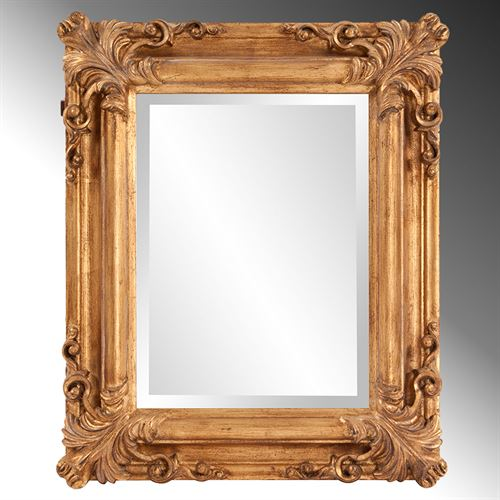 Spencer Wall Mirror Antique Gold