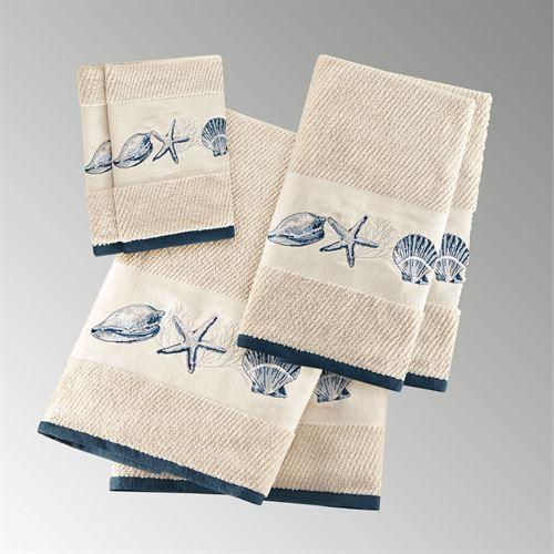 Bayside Bath Towel Set Natural Six Piece Set