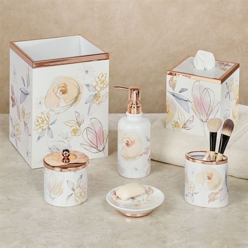 Blush and Blooming Lotion Soap Dispenser Multi Pastel
