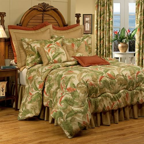 La Selva II Comforter Set Light Gold