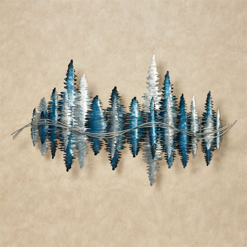 Echoes Wall Sculpture Blue