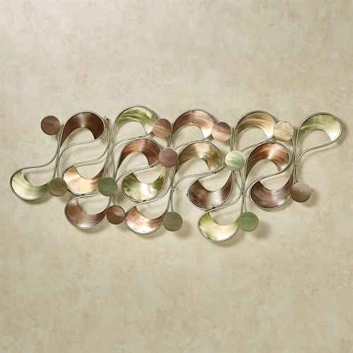 Deviate Wall Sculpture Multi Metallic