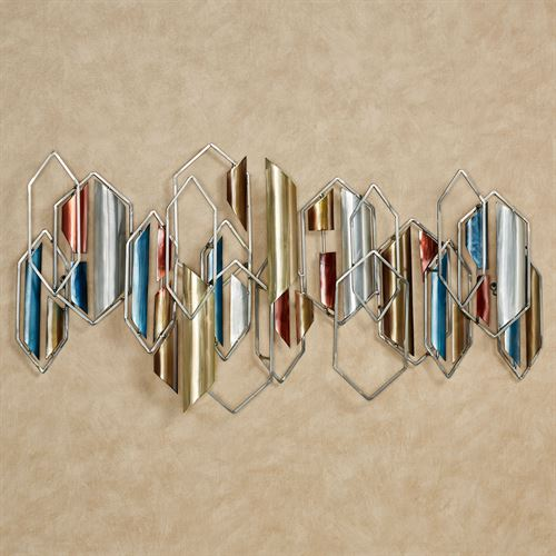 Insignia Wall Sculpture Multi Metallic