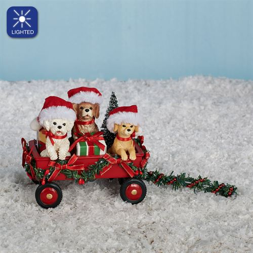 Full Wagon Accessory Figurine Red