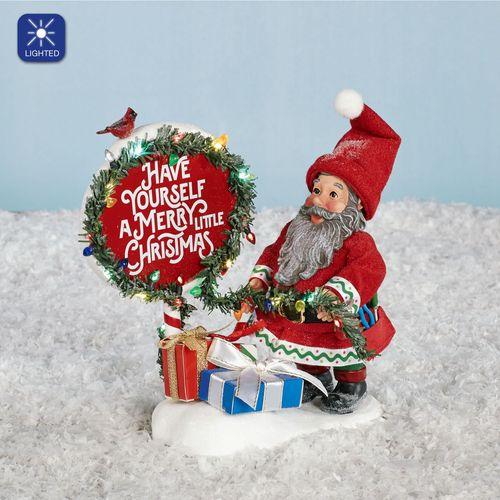 All Ready Elf Clothtique Accessory Figurine Red