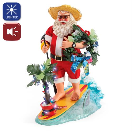 YOLO Clothtique Santa Figurine Red