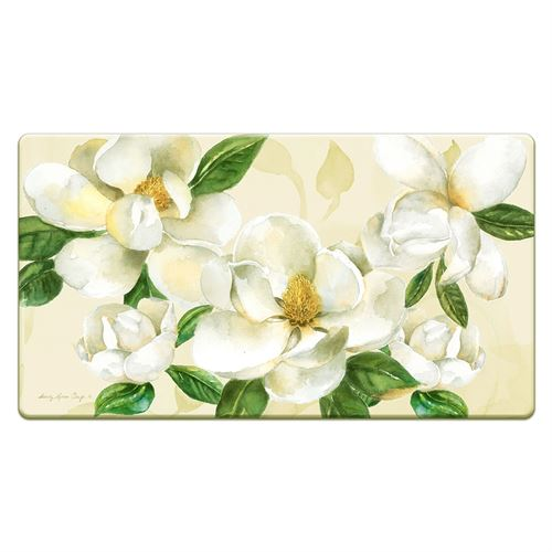 Magnolias Floral Cushioned Floor Mat Multi Cool 36 x 20