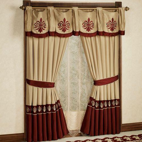 Roman Empire Tailored Curtain Pair