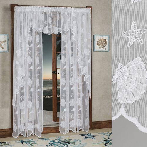 Seashells Lace Tailored Panel