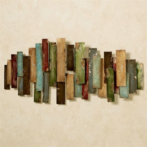 Lanston Abstract Wall Art Multi Jewel