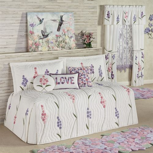 Wildflowers Daybed Set Ivory Daybed