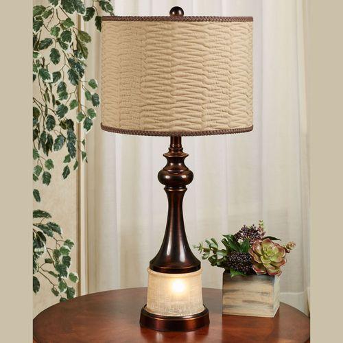 Svana Dark Bronze Table Lamp With