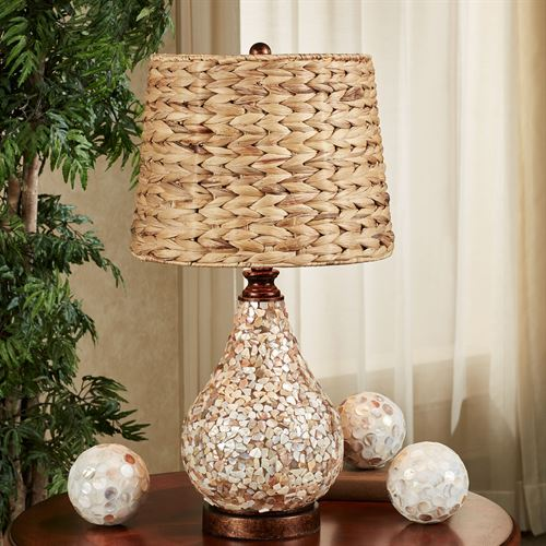 Theia Table Lamp Multi Earth
